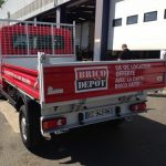 covering camion plateau blanc 2