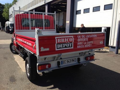 Location Camion Benne Brico Depot